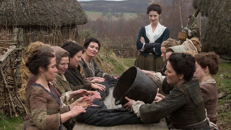 """'Outlander' Season 1, episode 5: 'Rent' photos  Claire is brought along on the MacKenzie rent-collecting trip; Jamie is used for the Jacobite cause on """"Rent,"""" the newest episode of """"Outlander,"""" airing Saturday, Sept. 6, 2014 at 9 p.m. ET/PT on Starz."""