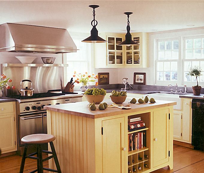 Kitchen Cabinets Yellow: 1000+ Images About Yellow Kitchen Islands On Pinterest
