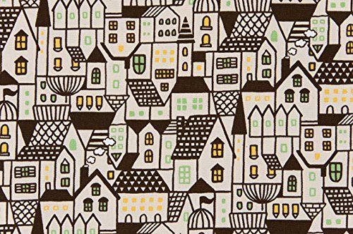 Amazon.co.jp | コスモテキスタイル 北欧の森 オックス 約110cm巾×1mカット AP45306 col.1C | ホビー 通販