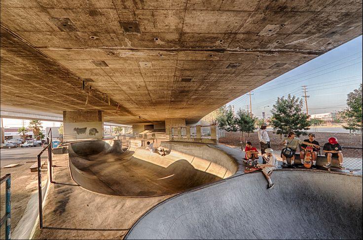 San Pedro CA Channel Street Skatepark