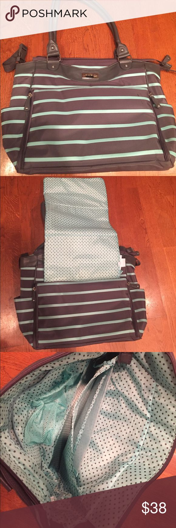 Diaper bag Super cute. Used one time. So much storage! Carter's Bags Baby Bags