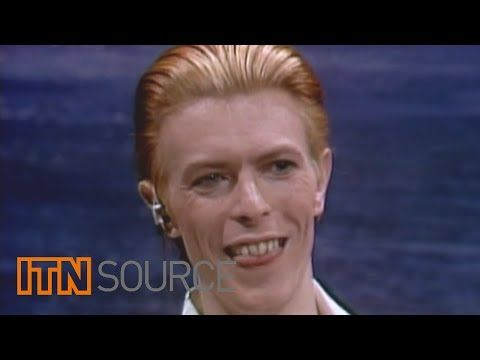 This rare snippet shows Bowie suffering his heart attack in the middle of a performance in 2004 in Germany