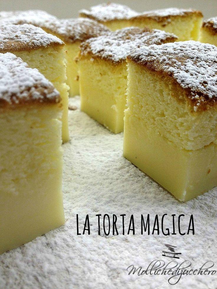 La torta magica - Molliche di zucchero