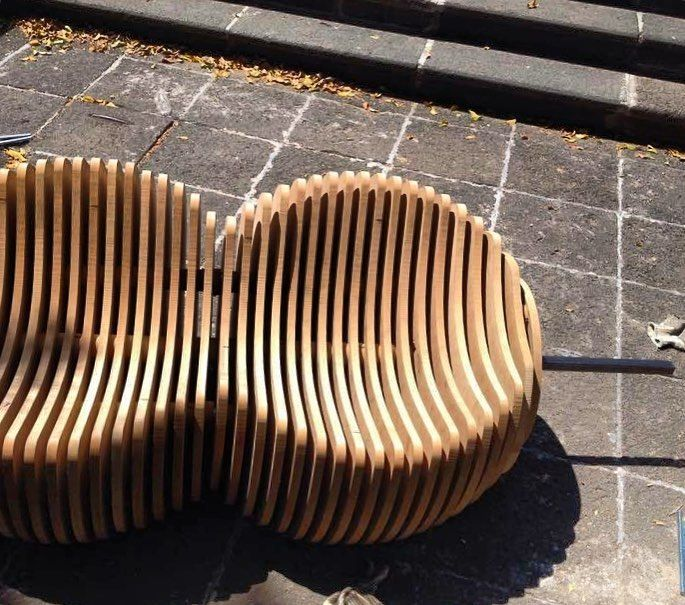 Urban furniture process  _ #WeDot  #design  #parametric  #furniture