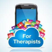 "List of apps for therapists. Have you ever had a client that could use a little more self-awareness? Ever wish you could collect more information to understand the extent of the client's issue or help the client identify patterns? Does your client wonder if the medication really making a difference? Of course, the answer is ""Yes"" to all of these. Collecting information is one of the most basic (and easy) uses for Apps."