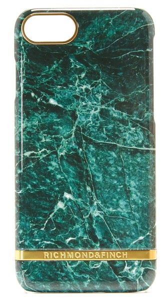 Richmond & Finch Green Marble iPhone 7 Case