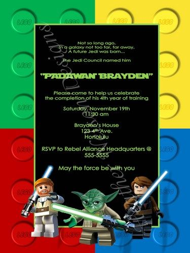 free printable star wars invitation