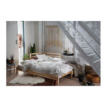 IKEA TARVA Day Bed With 2 Mattresses Two Functions In One