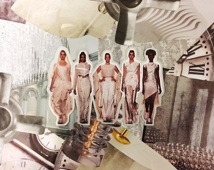 Collection by Julissa Arrington | The Art Institute of California - San Francisco | The Art Institutes at NYFW SS17 | Collage by Closet Collage