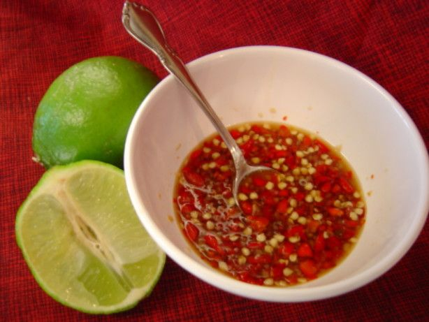 Make and share this Thai Red Chile Sauce - Nam Prik Dang recipe from Food.com.
