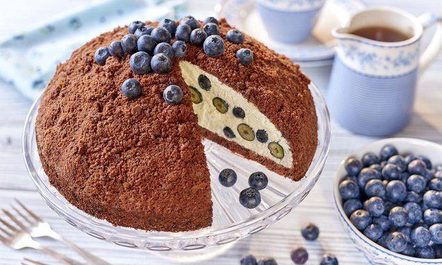 Borówkowy Kopiec kreta to pyszny deser nie tylko wletnie dni