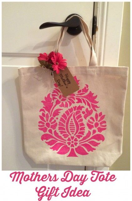 Mother's Day Tote Gift Idea | Cricut Ideas from Bloggers ...