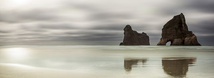 Archway Islands, New Zealand - by Christchurch photographer, Rob Dickinson. www.imagevault.co.nz