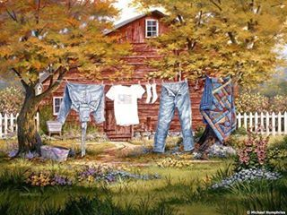 JUST A TYPICAL MONDAY (WASH DAY) IN THE COUNTRY…….ccp