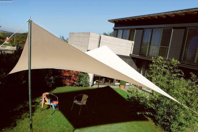 Sonnensegel für Terrassen garten beschatten sitzecke