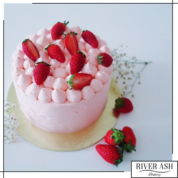 Strawberry Shortcake - River Ash Bakery - Cakes and Desserts Singapore