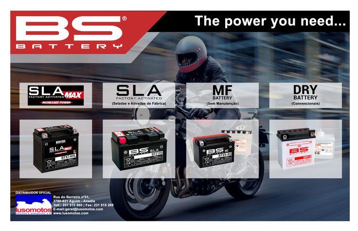 BATERIAS BS A BS-BATTERY® tornou-se (em apenas alguns anos), um dos maiores e mais inovadores fornecedores de baterias, abrangendo uma gama completa de motos com produtos diversificados: - Baterias - Carregadores - Testers - Booster Qualquer que seja a Bateria que pretenda, a BS-BATTERY® tem a solução certa! #lusomotos #bsbattery #baterias #BS #motos #andardemoto #estilodevida #sla #slamax #battery #power
