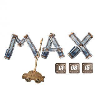 Geboortekaartje Max | BlijKaartje.nl