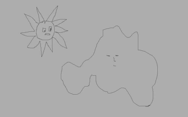 Foreign Language Hunter : The Dialogue Between Cloud and Sun
