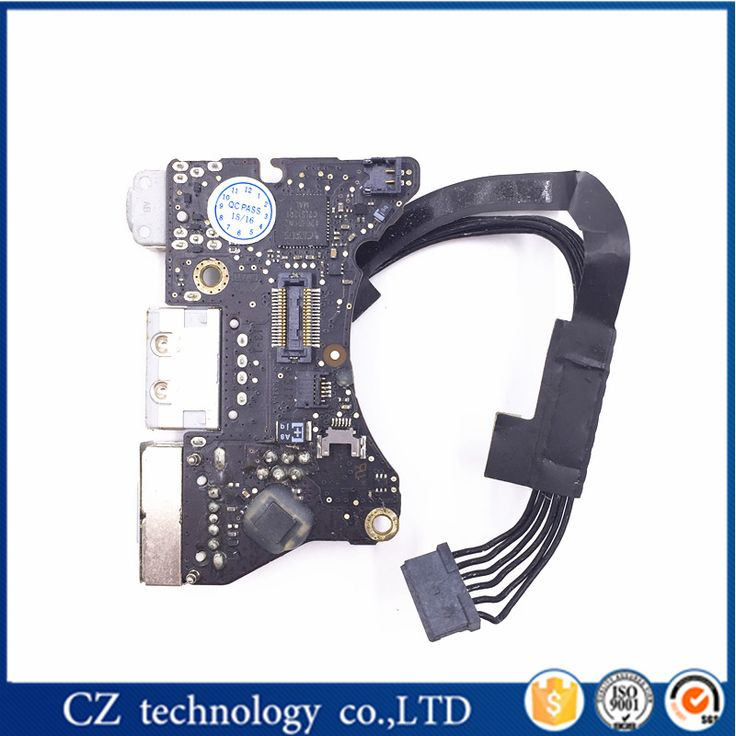 "wholesale Magsafe I/O Audio USB Board for MacBook Air 11"" 2011 A1370 1370 MC968 MC969 820-3053-A 100% working"