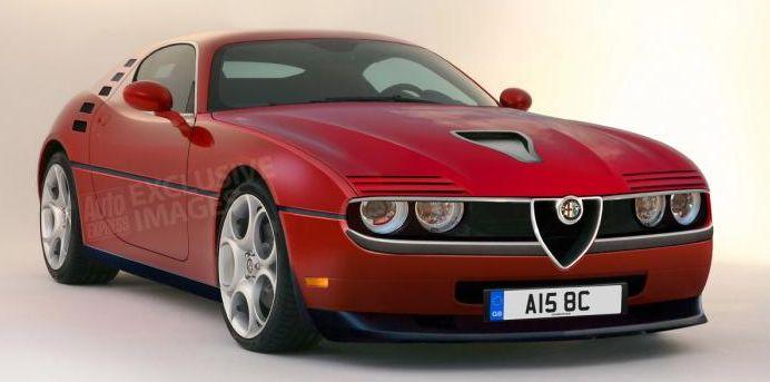 Alfa Romeo Montreal coupe Concept