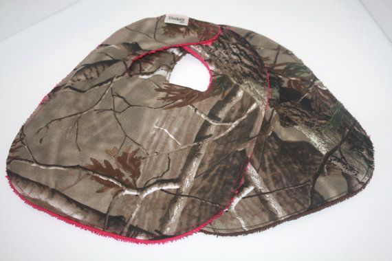 bibs, baby bibs, realtree baby bibs, camouflage baby bib, spit bib, hunting bib, camoflage, camo bibs on Etsy, $6.50