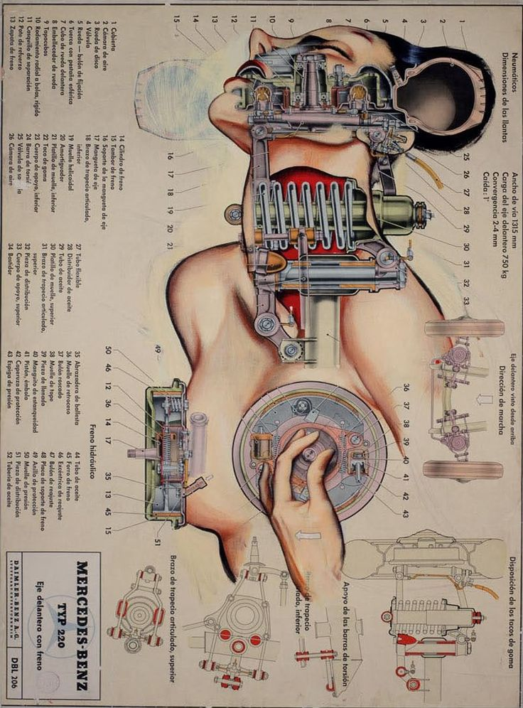 the body as a machine... by Fernando Vicente