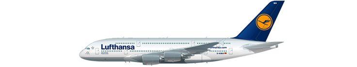 Airbus A380-800 - Lufthansa ® 日本