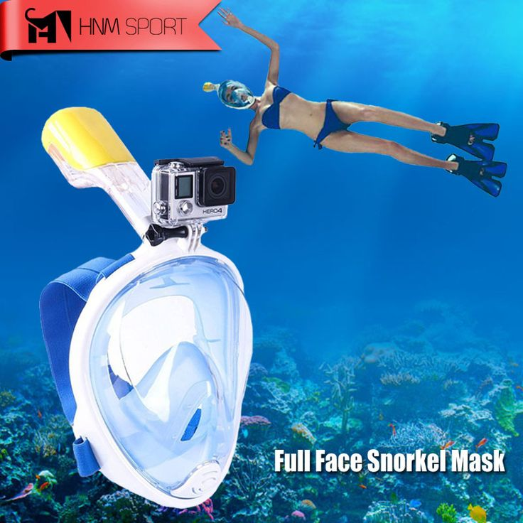 Adventure Mask and Snorkel with GoPro Mount //Price: $51.99 & FREE Shipping //