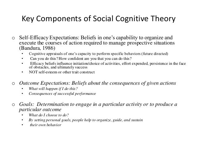 evaluation on two theories of cognitive development Piaget's theory of cognitive development genetic  table 71 a  small sample of cognitive growth from piaget's perspective piaget's stages  of  cannot distinguish between the two  an evaluation of piaget's  theory.
