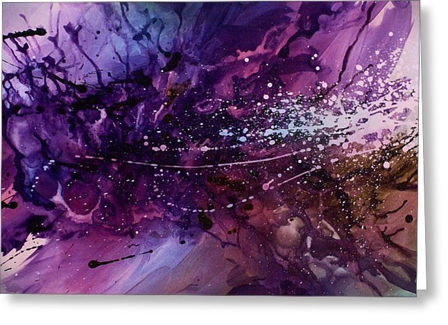 Abstract Design 66 Greeting Card by Michael Lang