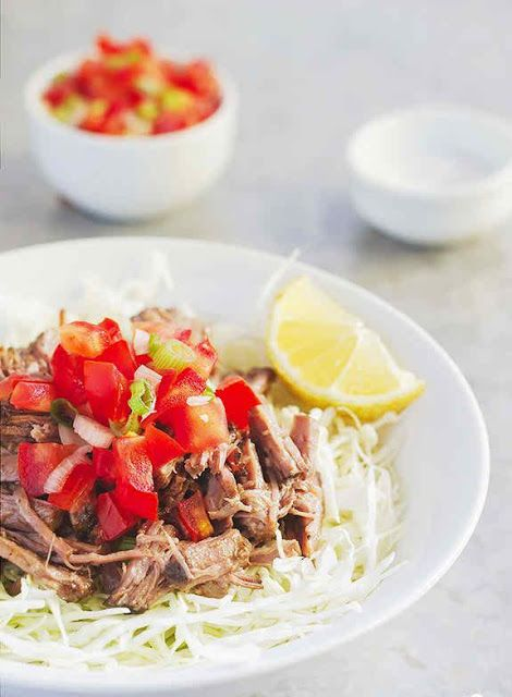 How to make Barbacoa with Cabbage Slaw