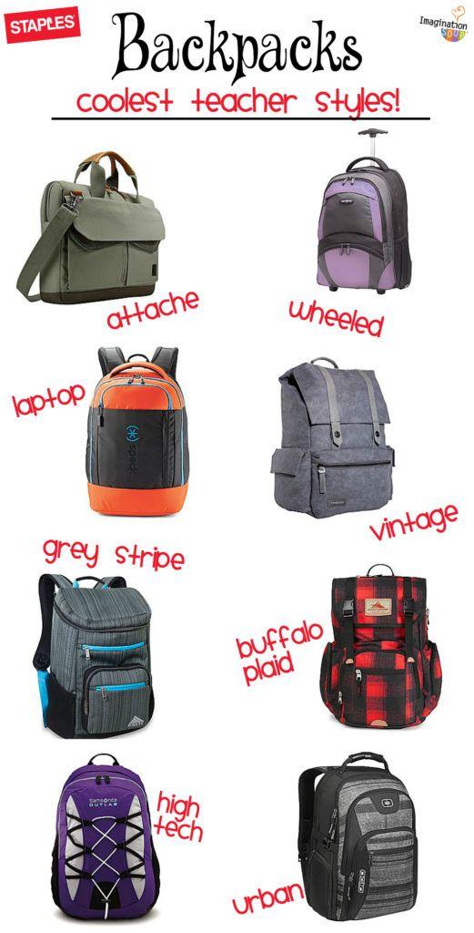 cool backpacks for teachers! #schoolhappens #ad @Staples