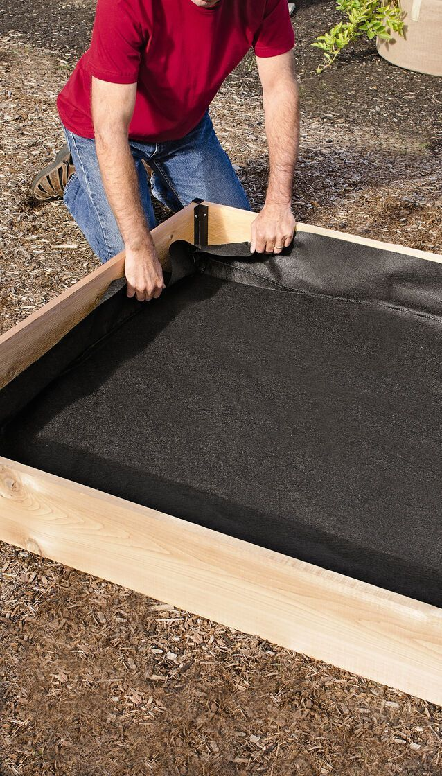 Raised Garden Bed Liners In 4 Sizes Free Shipping 99 Orders In 2020 Vegetable Garden Raised Beds Raised Garden Garden Bed Layout