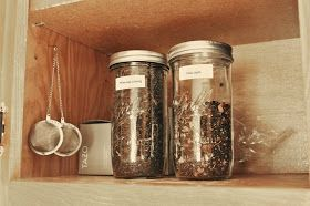 Loose Leaf Tea Recipes.  Chai Spice, Cinnamon Orange, Cinnamon Lavender, Pumpkin Pie, Fall Spice, Coconut Dream, and Citrus Mint.