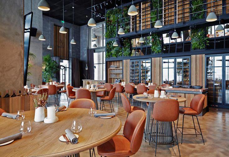 The restaurant Alancha in Instanbul, a project by Cacti studio / Il ristorante Alancha a Instanbul, progettato dallo studio Cacti
