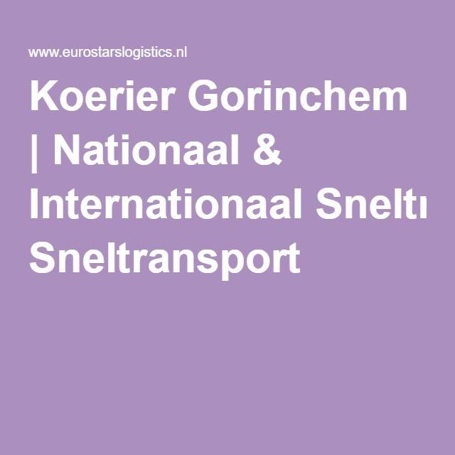 Koerier Gorinchem   Nationaal & Internationaal Sneltransport