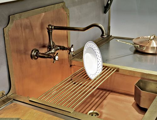 We love the retro look of these old-style brass sinks by Restart. The Italian company is channeling the old world farmhouse aesthetic, both in material and looks, in this...