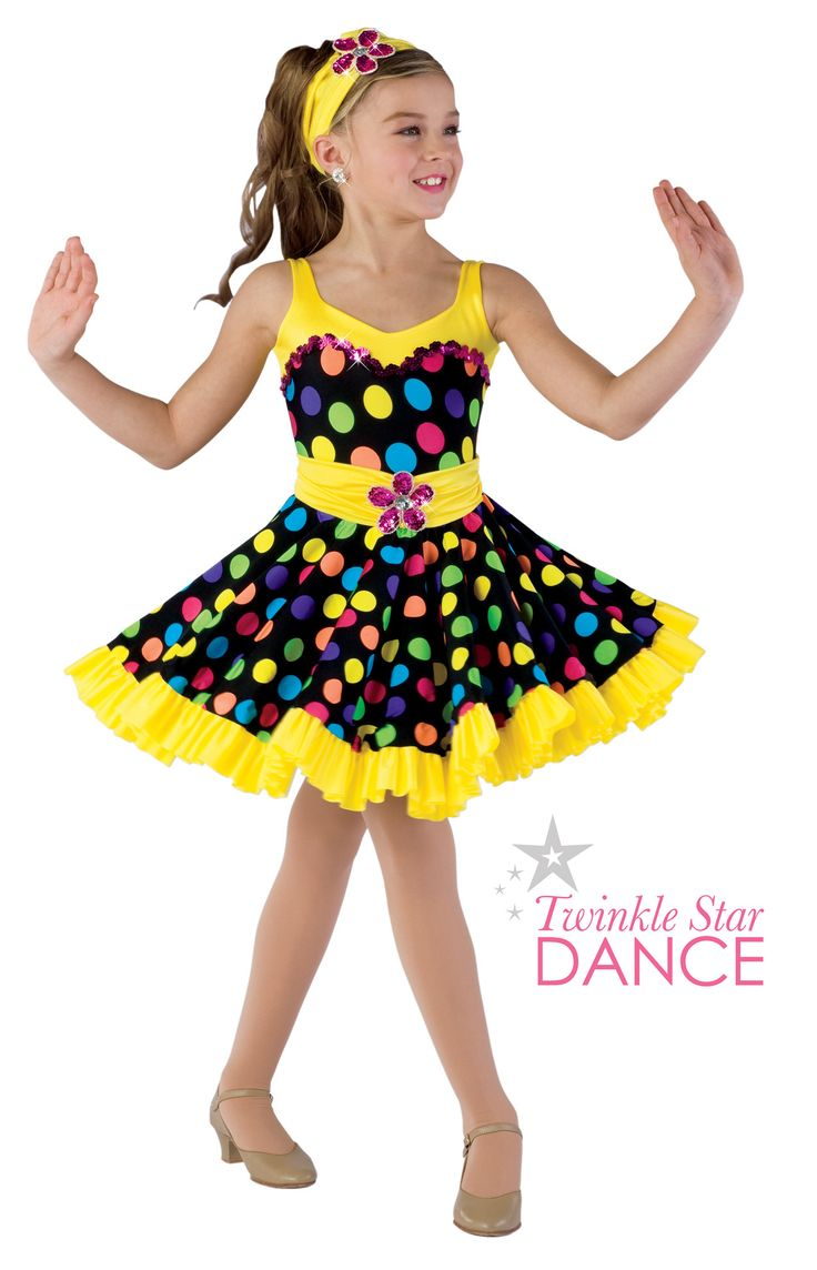 Colorful tap costume