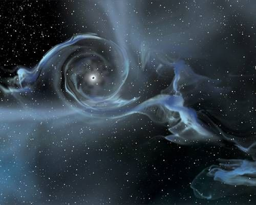 Black holes are some of the most mysterious objects in the universe —what is left behind after a star has collapsed. NASA has compiled several dramatic images of what are believed to be black holes in space.