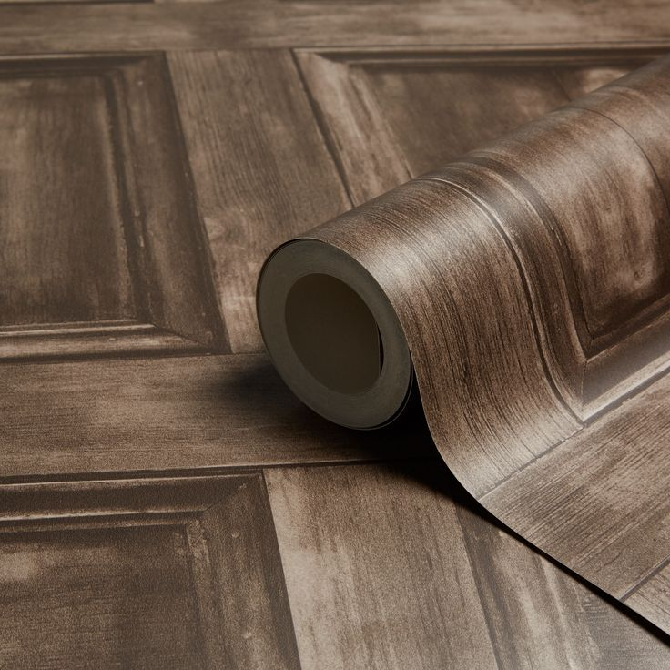 Fine Decor Choc Wood Panel Wallpaper