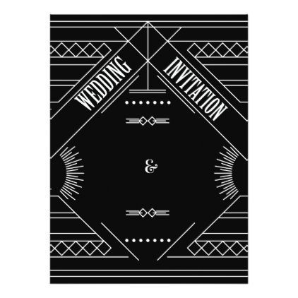 gatsby wedding invitations - wedding invitations cards custom invitation card design marriage party #weddinginvitation