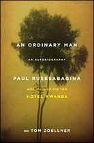 The book the movie Hotel Rwanda was based on. About the hotel manager and how he managed to save over 1000 refugees during the Rwandan Genocide.