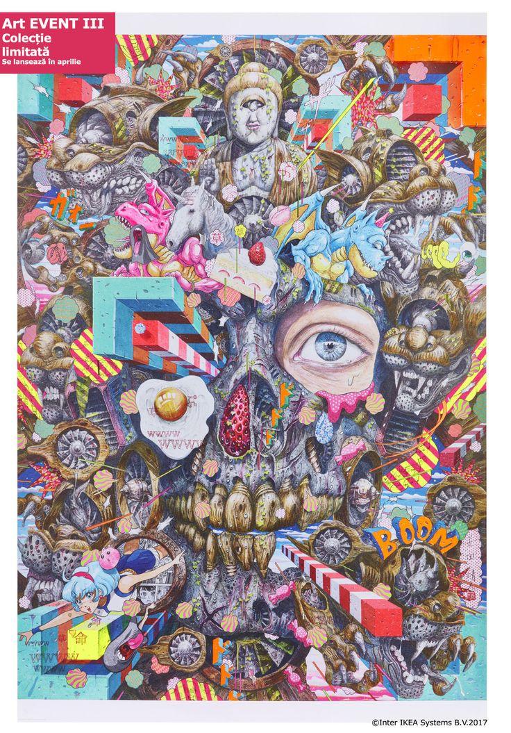 Arta se poate muta din galerii și muzee chiar la tine acasă cu ajutorul posterelor din colecția limitată ART EVENT 2017. Colecția este disponibilă în limita stocului așa că te invităm să o descoperi în magazin și online :)  #colectiilimitateIKEA #ARTEVENT2017