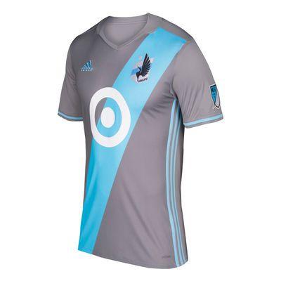 Men's Minnesota United FC adidas Gray 2017 Primary Authentic Jersey ($119.99)