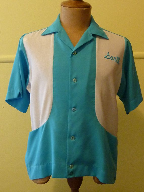 King Louie By Holiday 1960s 60s Men S Vintage Bowling