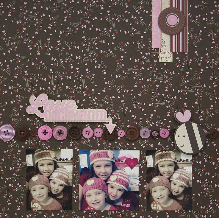 Our House of E...: Lasting Memories #200: Buttons and a HOP!!!