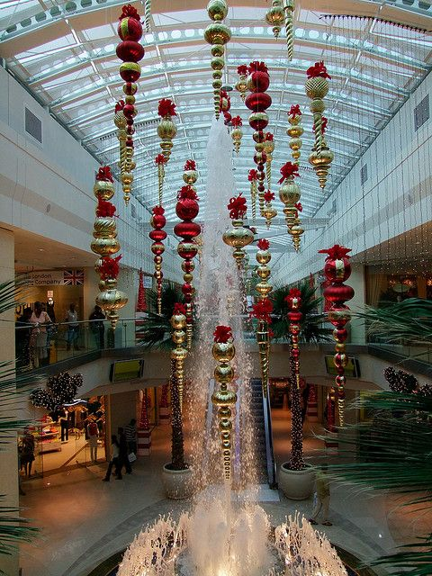 West Mall Christmas Decorations 2 by christopherbarran, via Flickr
