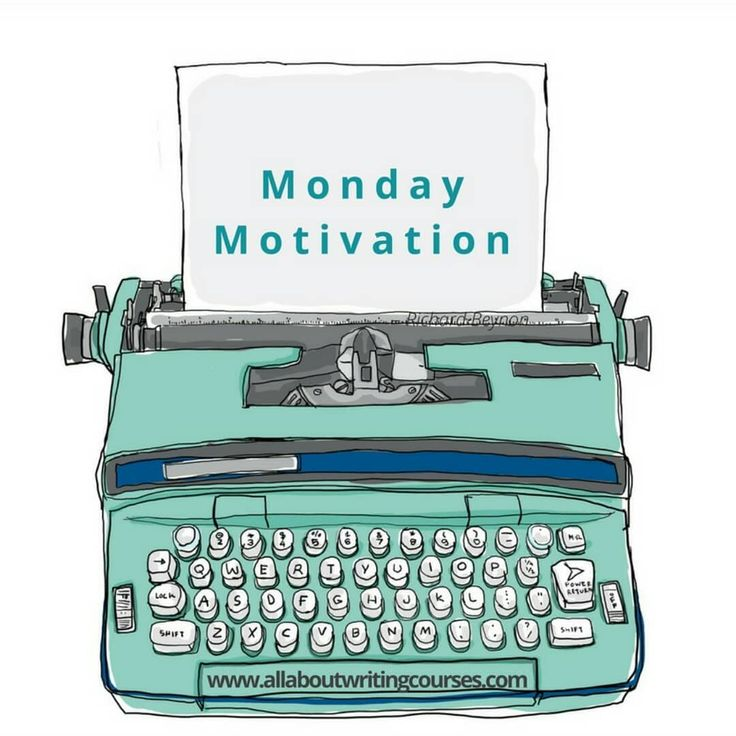 It's like that friend who's always there to pep talk you, but better. Our Monday Motivation blog series goes out, you guessed it, every Monday. 🙇 Sign up to get weekly tips and thoughts on writing in your inbox! #MondayMotivation #Typewriter