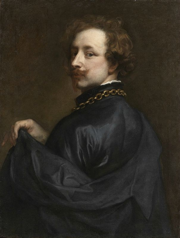 Anthony van Dyck, 'Self Portrait', about 1629